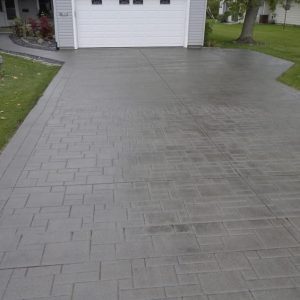 Installation of a Concrete Driveway