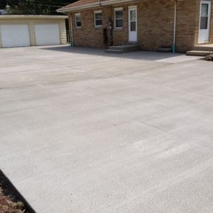 Concrete Driveway Installed by Perimeter Concrete Solutions